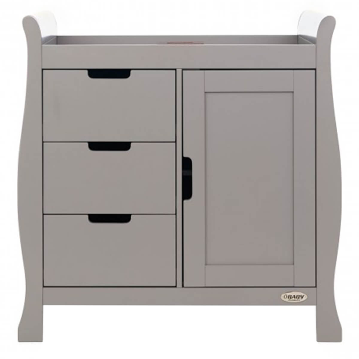 Obaby Stamford Changing Unit Taupe Grey