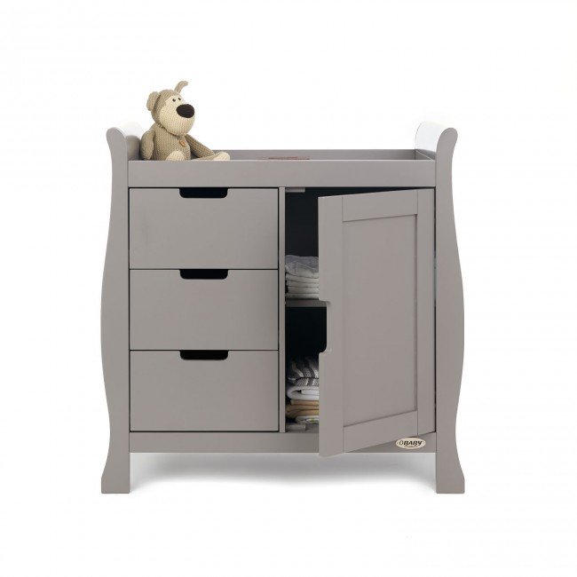 Obaby Stamford Changing Unit Taupe Grey 2