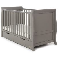 Obaby Stamford Cot Bed Taupe Grey