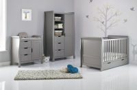 Obaby Stamford Cot Bed Taupe Grey 2