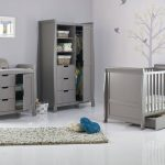 Obaby Stamford Cot Bed Taupe Grey 3