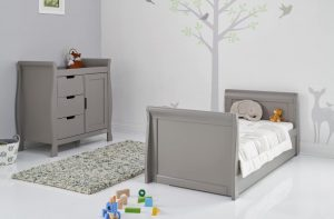 Obaby Stamford Cot Bed Taupe Grey 4