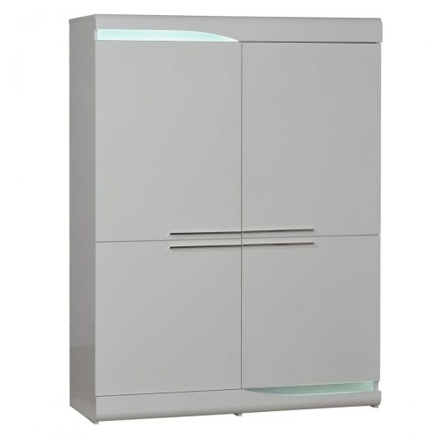 Ovio Storage Unit White 4 Door
