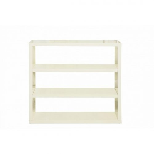 Puro high Gloss cream Bookcase