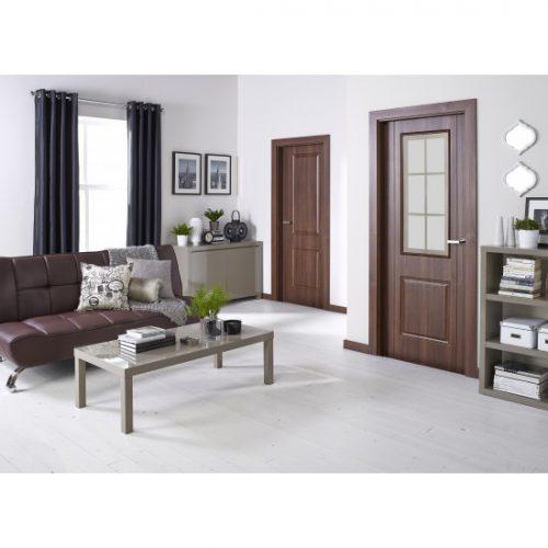 Puro high gloss grey roomset