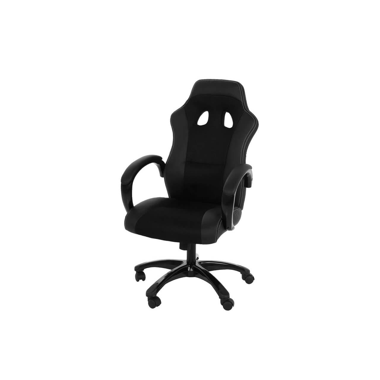Race Desk Chair Black