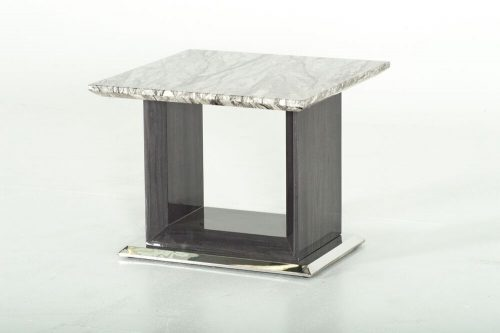Rina Grey Marble Lamp Table 3