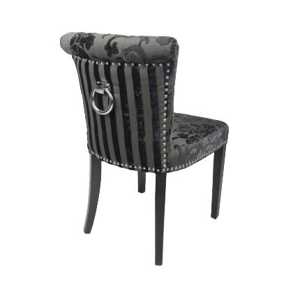 Sandringham Charcoal Modern Dining Chairs 1