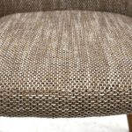 Sidcup Tweed Fabric Dining Chairs 5