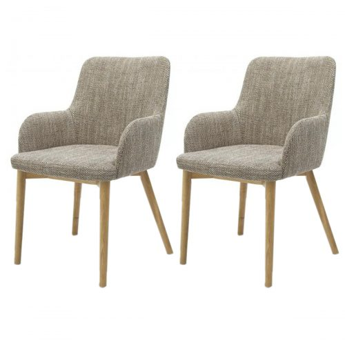 Sidcup Dining Chairs Fabric Tweed