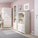 Starlight Kids Wardrobe 2 Door 2 Drawer 4
