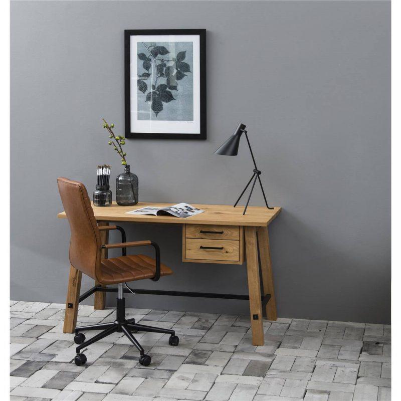 Stockholm Oak Desk 4