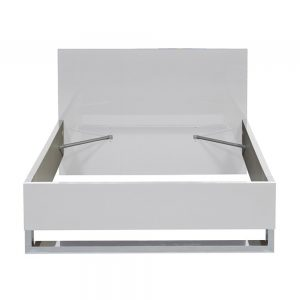 Sunrise White High GLoss Bed Frame 4