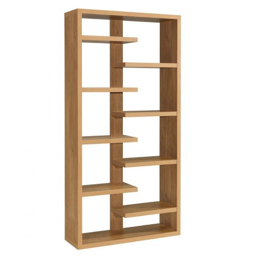 Toronto Multi Purpose Open Bookcase Oak
