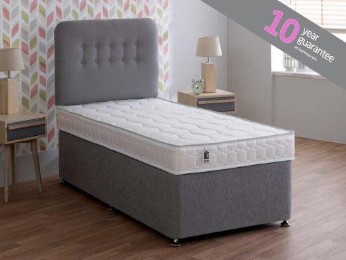 Breasley Uno Deluxe High Density Foam Mattress Firm 14cm Depth 1