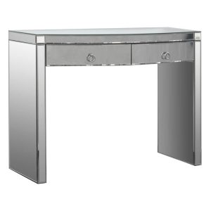 Verona Dressing Table 2 Drawer Mirrored