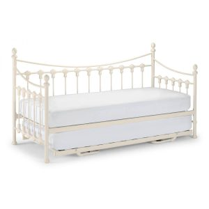 Versailles Stone White Day Bed & Trundle