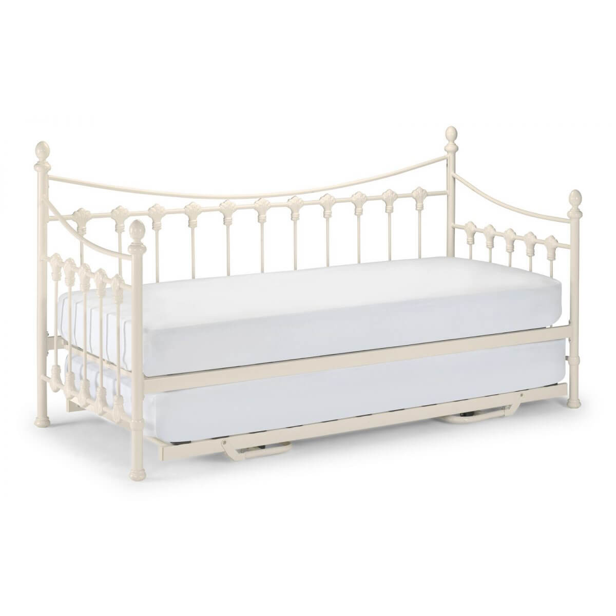 Versailles Off White Day Bed Trundle Optional Trundle Beds Fads