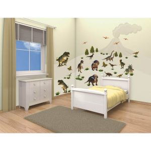 Walltastic Dinosaur Land Room Decor Stickers