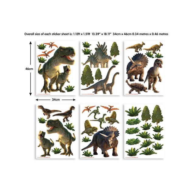 Walltastic Dinosaur Land Room Decor Stickers 3