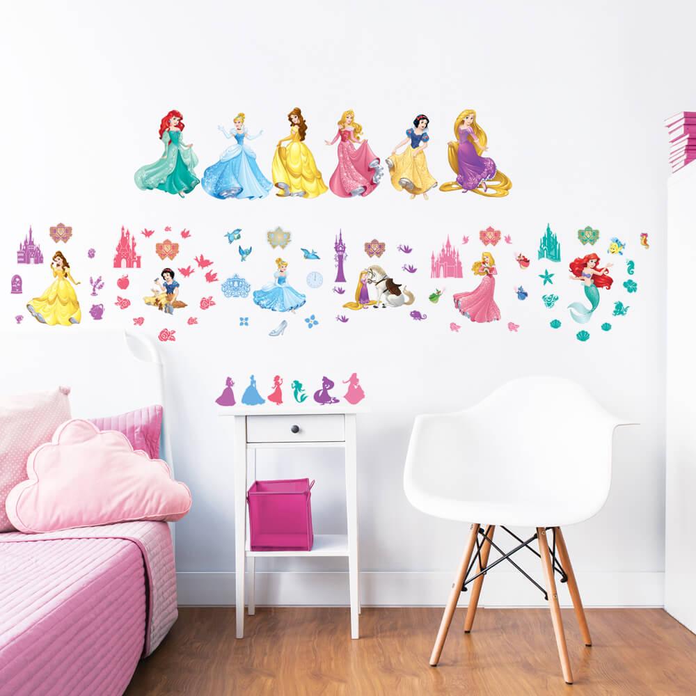 Walltastic Disney Princess Wall Stickers | Wall Art