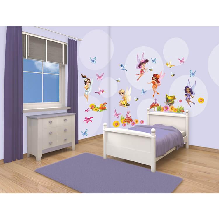 Walltastic Magical Fairies Room Decor Stickers