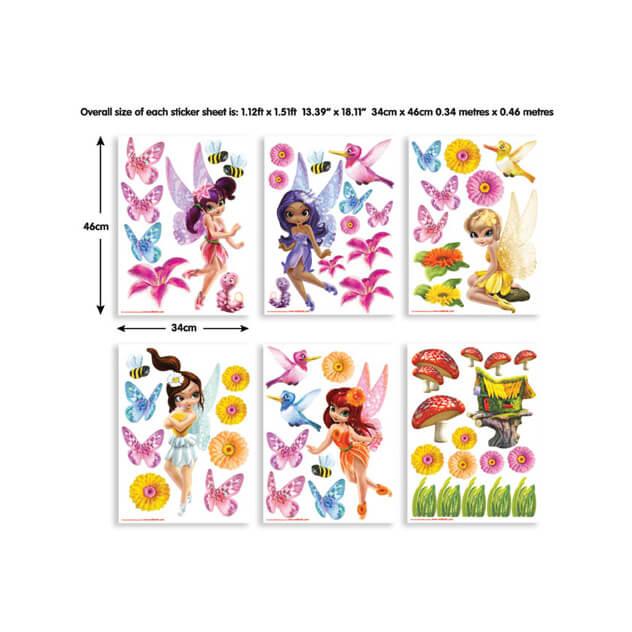 Walltastic Magical Fairies Room Decor Stickers 1