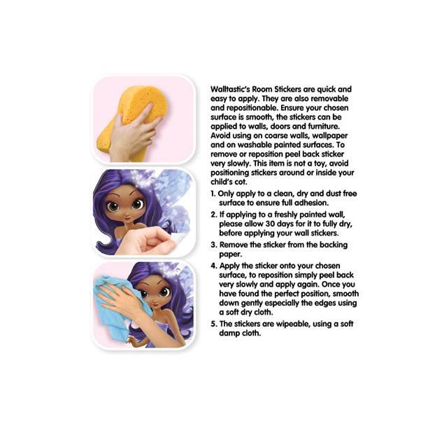 Walltastic Magical Fairies Room Decor Stickers 2