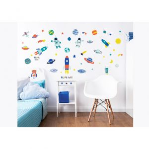 Walltastic Outer Space Childrens Room Decor Stickers