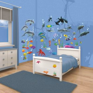 Walltastic Sea Adventures Sticker Set 4