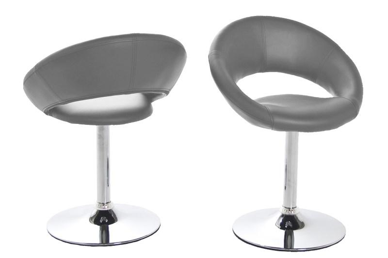 Caspian Modern Grey Dining Chair 1