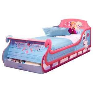 Disney Frozen Single Sleigh Bed 3