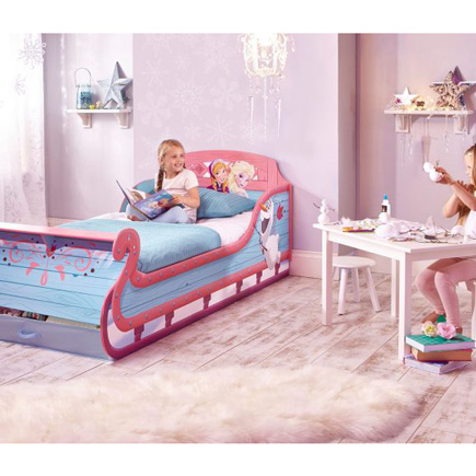 Disney Frozen Single Sleigh Bed Character Beds Fads
