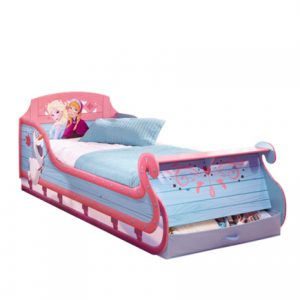 Disney Frozen Single Sleigh Bed
