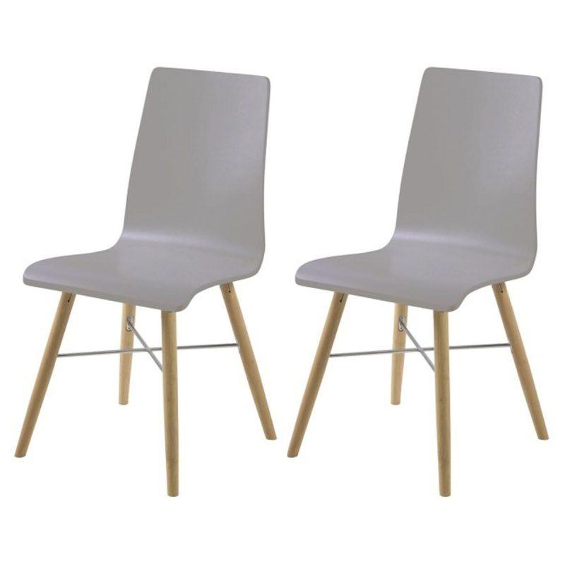 Milton Light Grey Dining Chairs