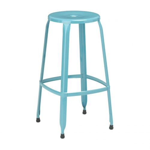 Rainbow Blue Bar Stool