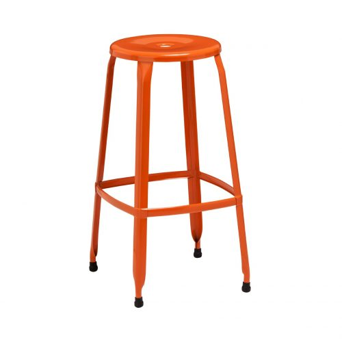 Rainbow Bar Stool Orange