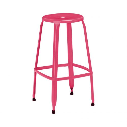 Rainbow Pink Bar Stool