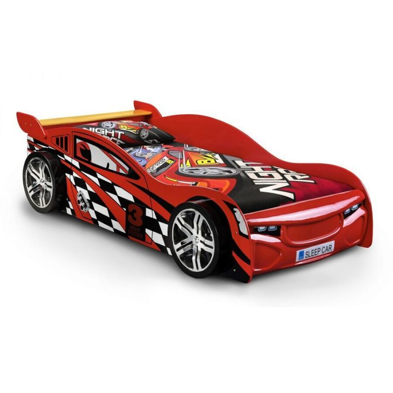Scorpion Red Racing Car Bed