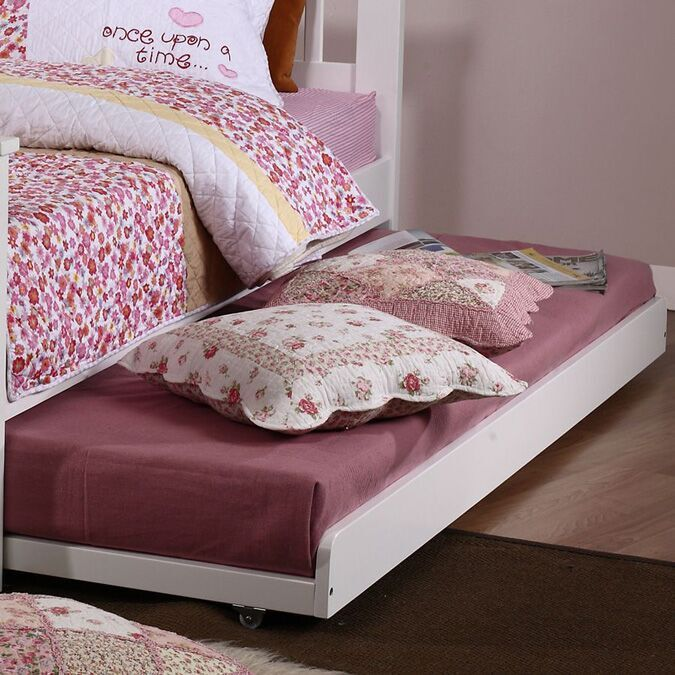 Bloomsbury White Daybed Trundle