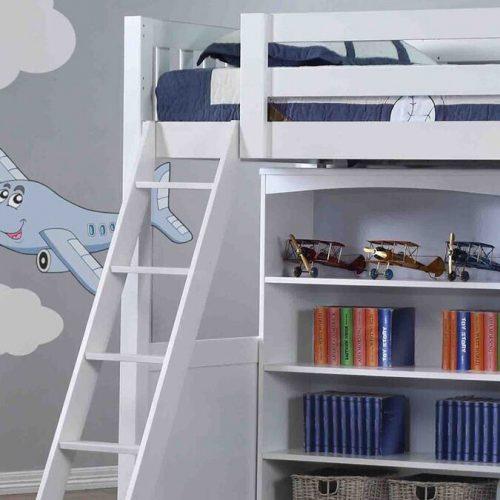 Willow White High Sleeper Ladder