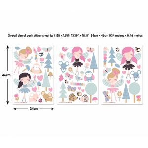 wooltastic woodland friends stickers 2