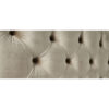 Alexandra Gold Fabric Bed Frame 3