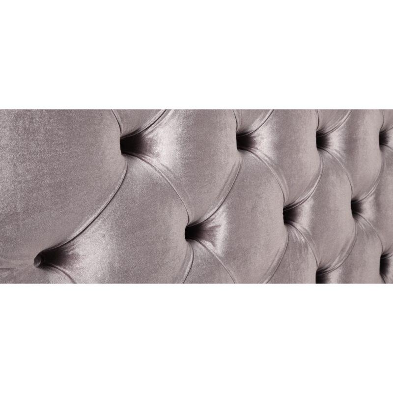 Alexandra Lilac Fabric Bed Frame 13