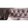 Alexandra Lilac Fabric Bed Frame 4