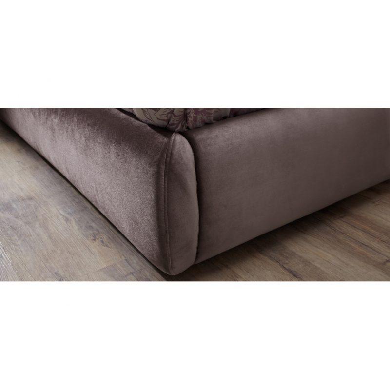 Alexandra Lilac Fabric Bed Frame 5
