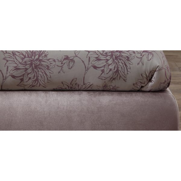 Alexandra Lilac Fabric Bed Frame 6