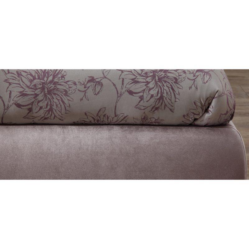 Alexandra Lilac Fabric Bed Frame 6