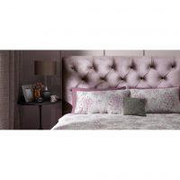 Alexandra Lilac Fabric Bed Frame 7