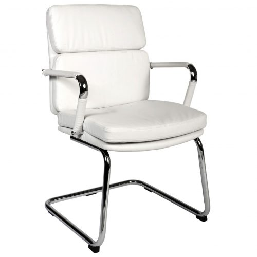 Aspen Cantilever Office Chair Faux Leather 1